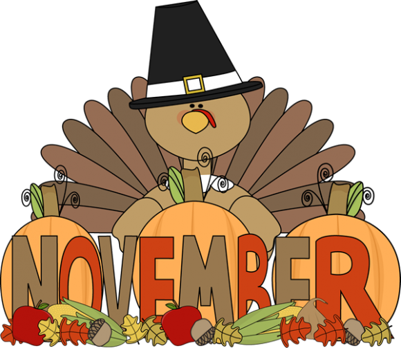 November 2018 - Monthly, Weekly and Food Celebrations