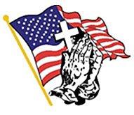 AmericanFlagCrossandPrayingHands
