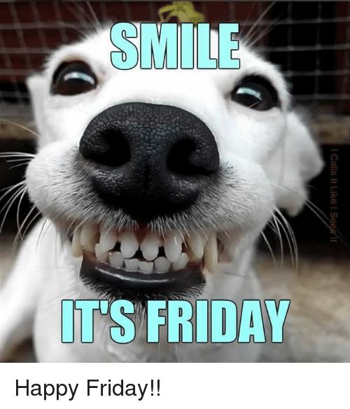 Celebrating Friday . . . Smile, Bake Something Yummy and ...